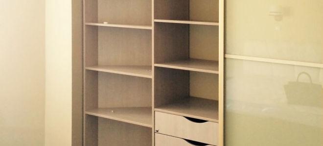 Как в нише самостоятельно сделать шкаф-купе?