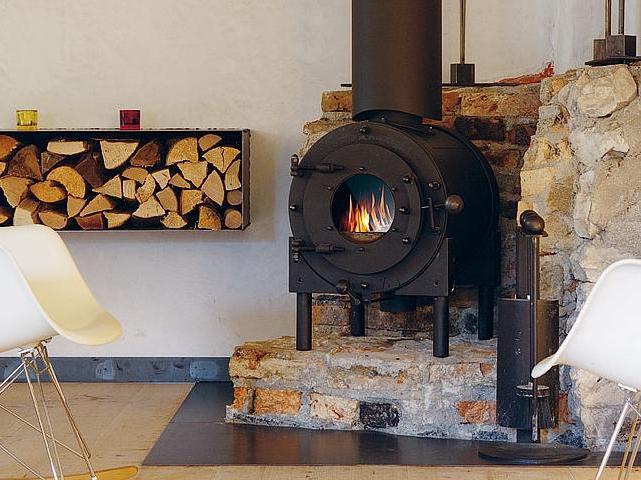 Чугунная печь длительного горения