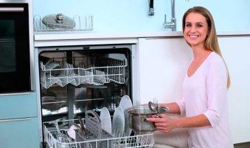 Высота встраиваемых посудомоечных машин – эргономические аспекты