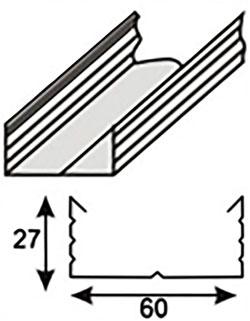 Потолочный крепеж ПП (CD)