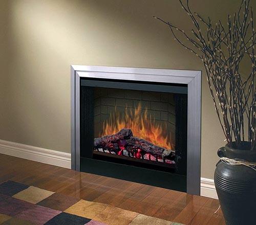 Заслуживают внимания модели, которые дают только изображение горящего огня, но не обогревают помещение, ведь иногда дополнительный обогрев в доме не нужен