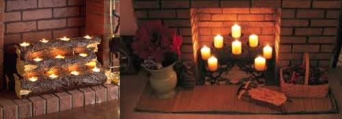 Использование свечей