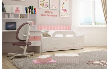 Кровать-диван в комнату для девочки