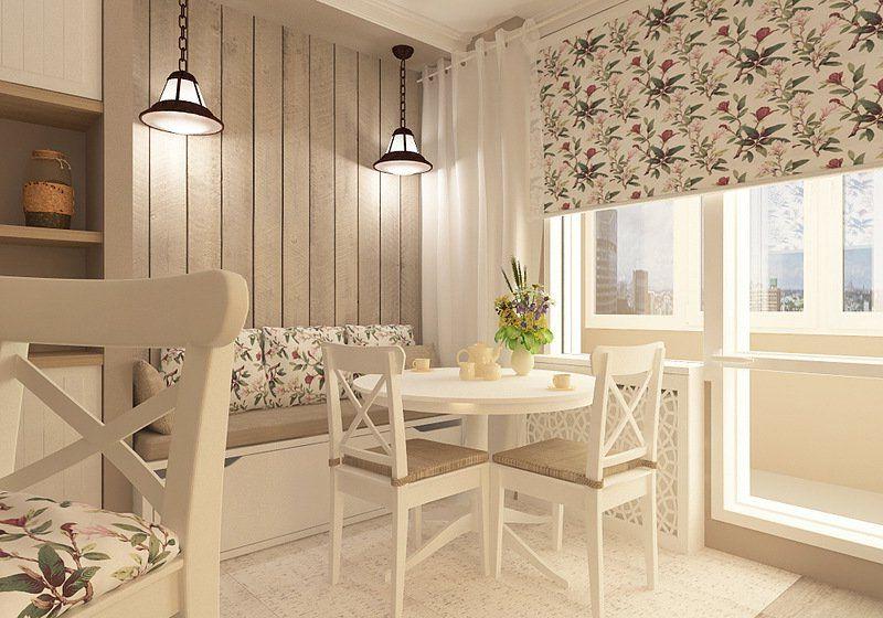 Вертикальное расположение ламината на стене кухни