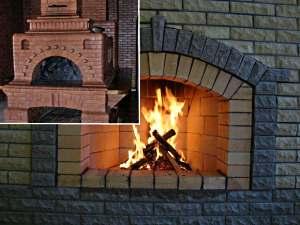 камин или печь