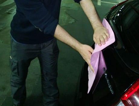 Полировка кузова машины