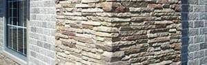 декор фасада из керамического сайдинга