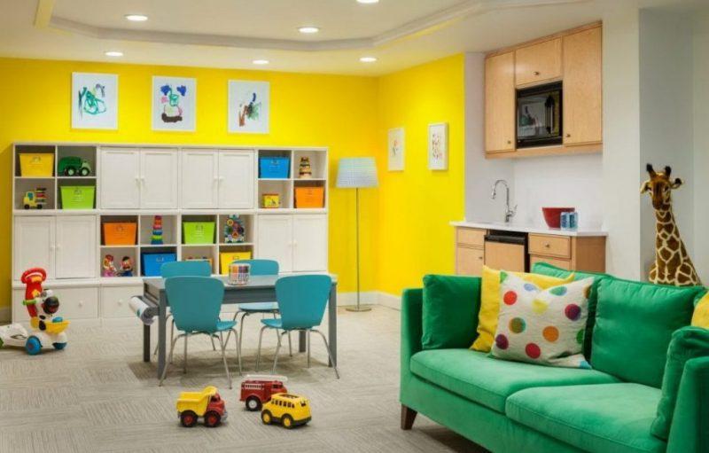 Яркие цвета сделают ребенка счастливее