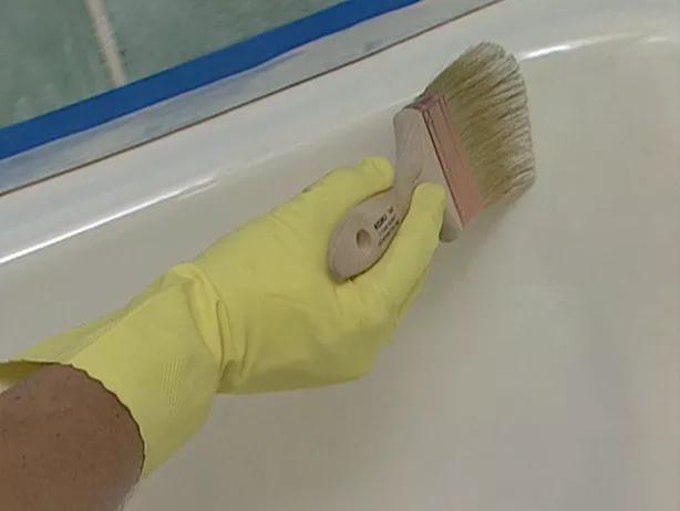 Эпоксидная эмаль для ванны