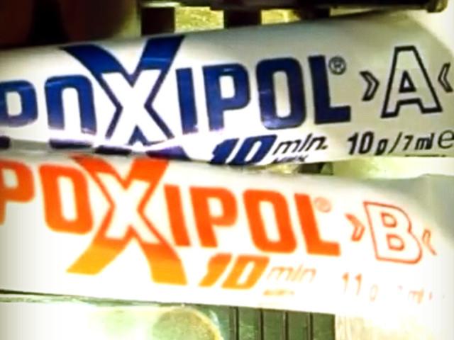 клей холодная сварка Поксипол
