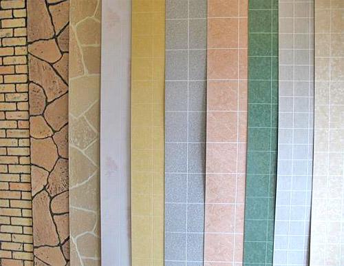Панели под плитку для стен ванной - выбор цвета (фото)