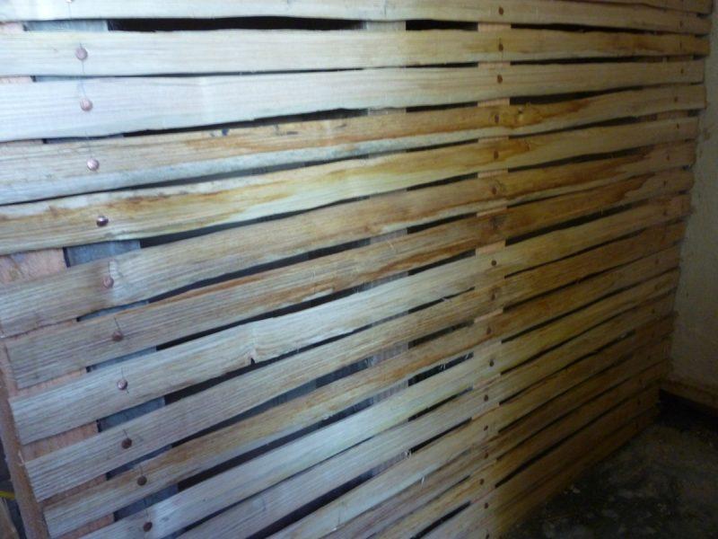Штукатурка по деревянной поверхности