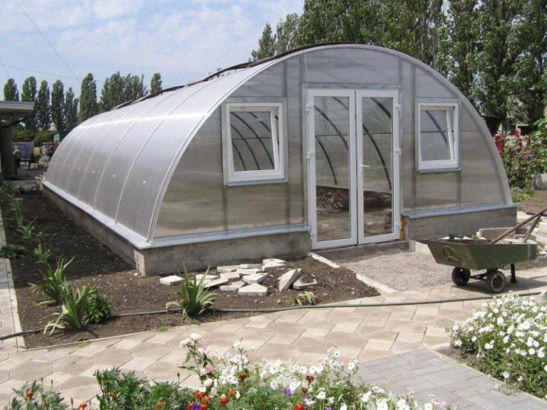При выборе теплицы крайне важно учитывать размеры дачного участка, где планируется ее построить в будущем
