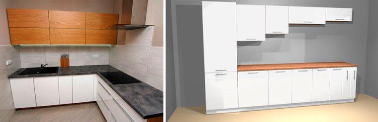 Высота верхних кухонных шкафов