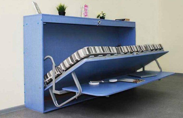 Детская стол-кровать
