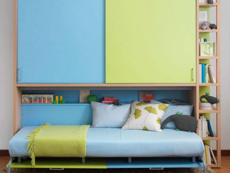 Трансформируемая шкаф-кровать для школьника