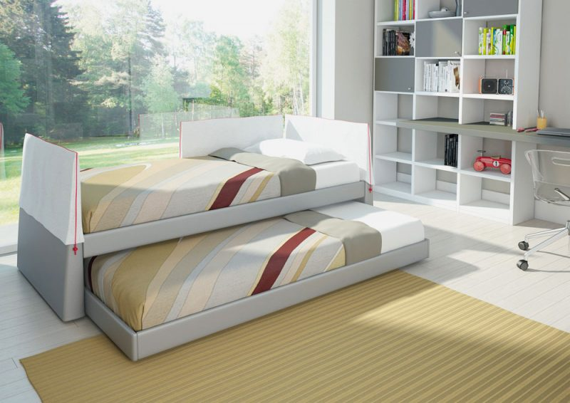 Выдвижная кровать-матрешка для подростков