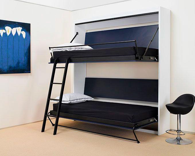Шкаф-кровать с двумя спальными местами
