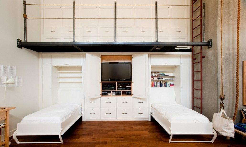 Кровати-шкафы для подростков