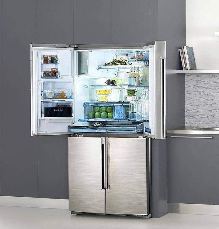 Многодверные холодильники Samsung