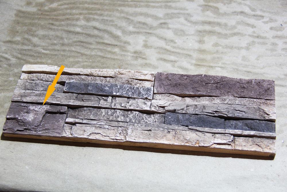 Схематичное изображение с разметками по размерам камина-порядовки