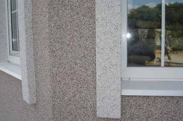 Мозаичная масса в отделке фасада