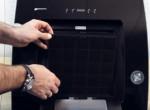 Шаг 5 – установка угольного фильтра