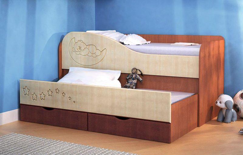 Детская кровать лдсп