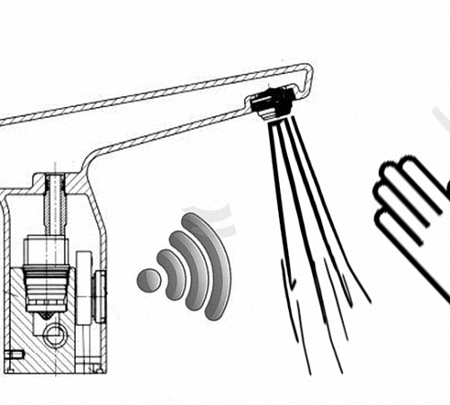 Принцип работы сенсорного смесителя