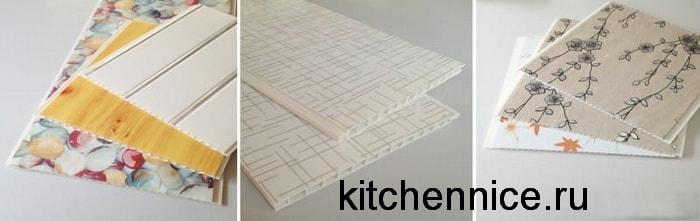 Пластиковые потолочные панели с рисунком