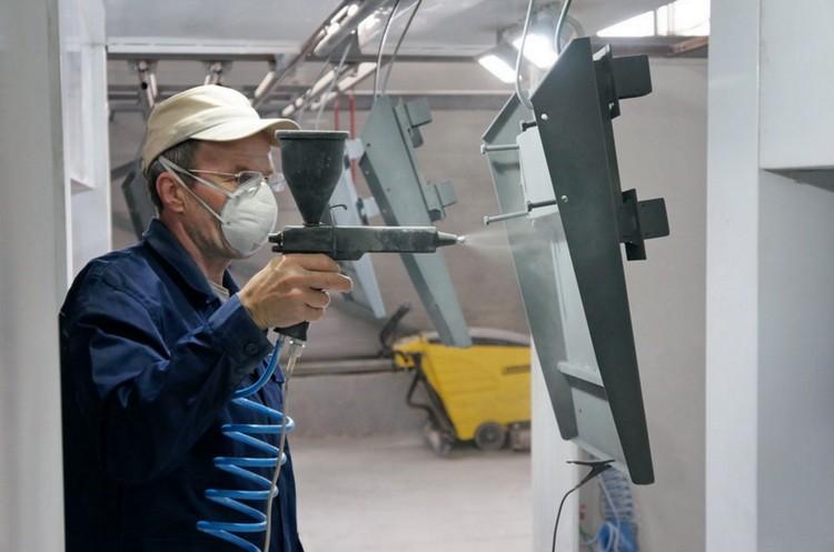 Технология порошкового окрашивания