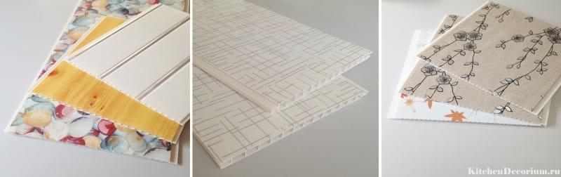 ПВХ-панели с рисунком