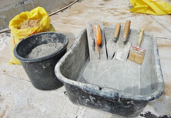 расход цемента на куб раствора