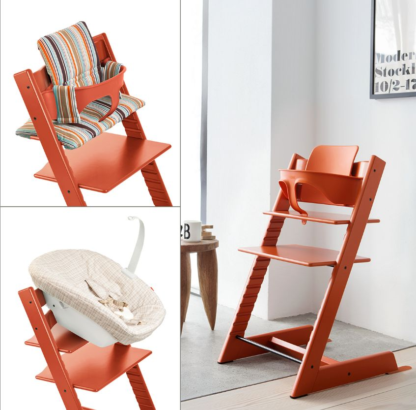 Вариации подушек на спинку растущего стула