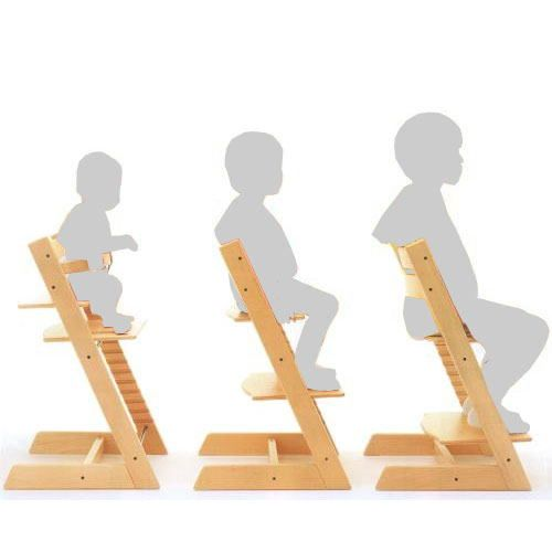 Трансформация растущего стула вместе с ростом ребенка