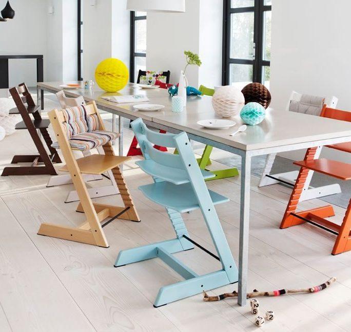 Растущие стулья для ребенка подходят для любых детей - их легко можно трансформировать под каждого малыша