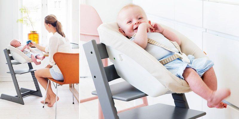 Мягкие подушки для ребенка сделают стул-вырастайку удобным даже для кормления младенцев