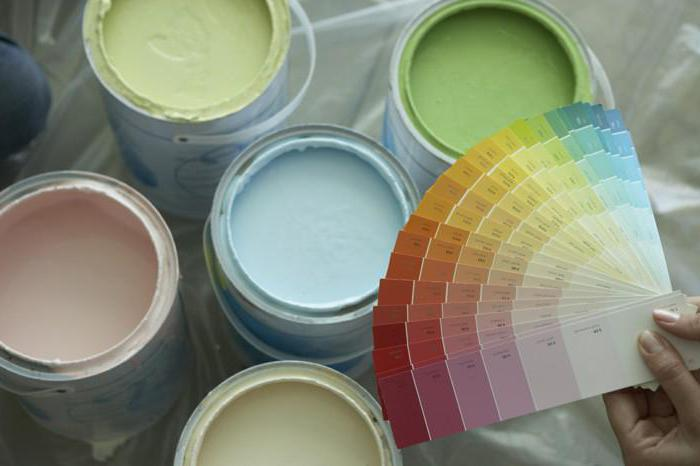 Колеровка водно-дисперсионной краски