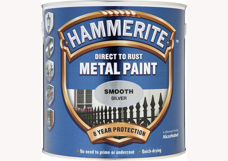 Краска универсальная по металлу Hammerite