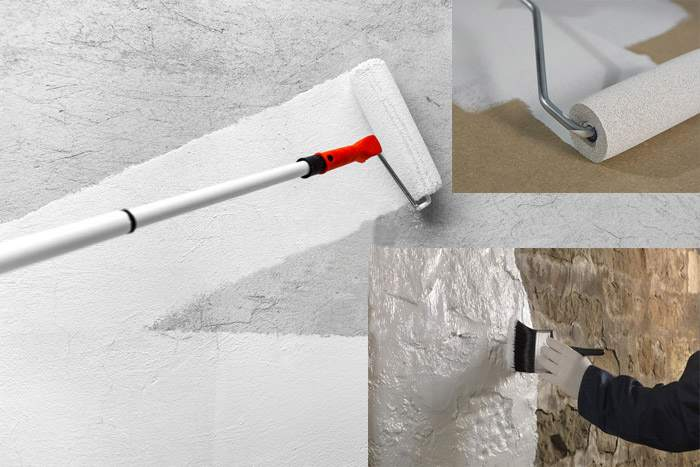 Грунтовка стен под разные покрытия
