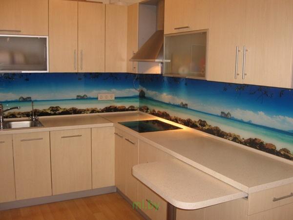 Какое расстояние между нижними и верхними шкафами кухни. Фото-6