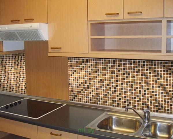 Какое расстояние между нижними и верхними шкафами кухни. Фото-8