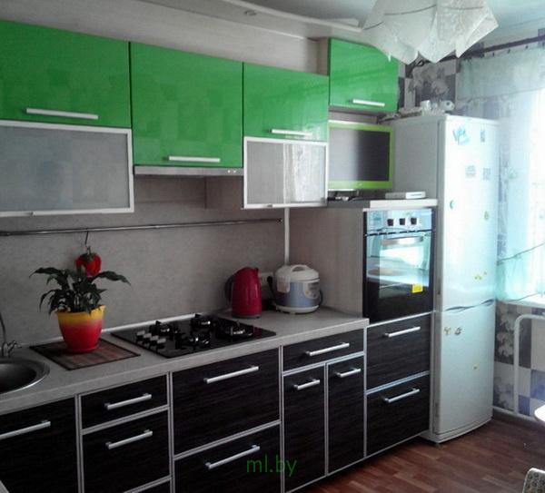 Какое расстояние между нижними и верхними шкафами кухни. Фото-11