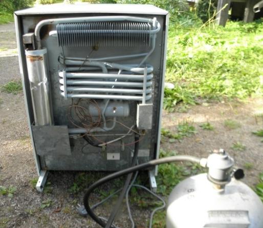 Самодельный газовый холодильник