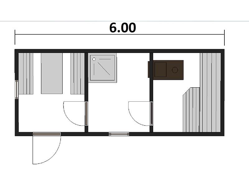 Вариант отделки пола балкона ламинатом