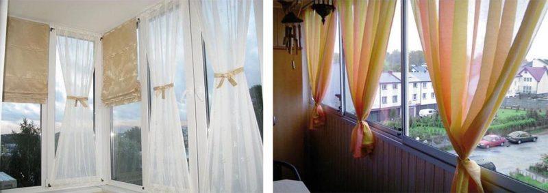 занавески для балкона