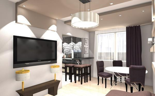 При объединении комнат важно учитывать несколько факторов, в том числе и расположение несущей стены
