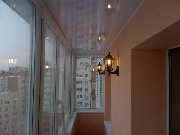 Электрика и освещение на балконах