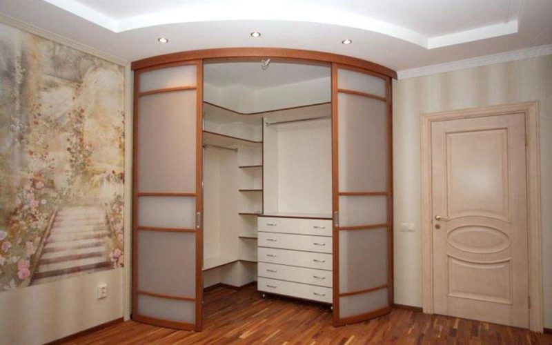 Конструкция и устройство шкафа-купе