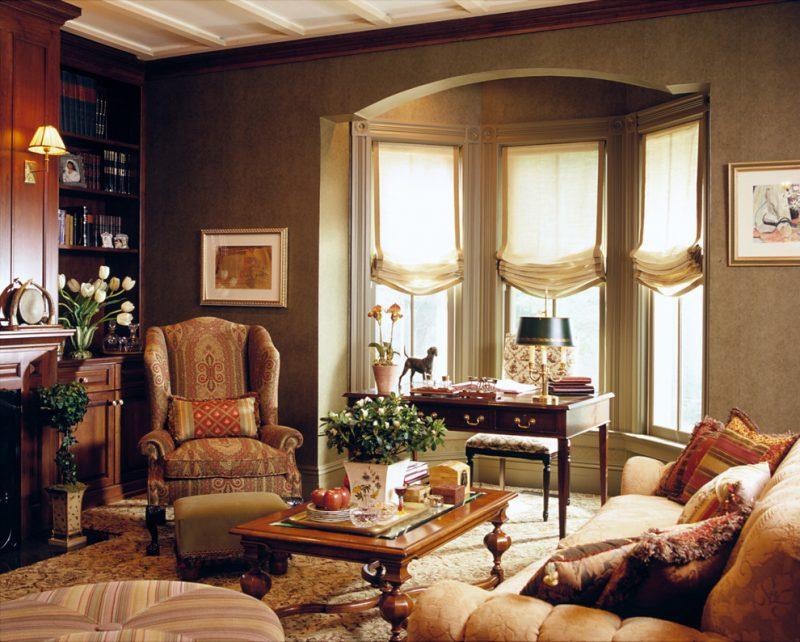 Эркерное окно в английском стиле